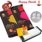 Care for You - Hanky 3 pcs, 2 Bournville with Bhaidooj Tikka and Laxmi-Ganesha Coin