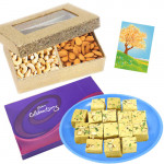 Celebration Combo - Soan Papdi, Celebrations, Cashewnuts & Almonds