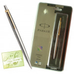 Parker Classic Steel Ball Pen with Gold Plated Clip