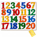 Counting Puzzle Tray - 1 to 20