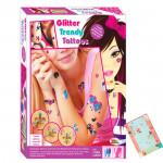 Ekta Glitter Trendy Tattoos