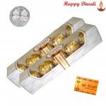 Ferrero 10 pcs - 2 Ferrero Rocher 4 pcs with Laxmi-Ganesha Coin