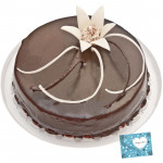 Chocolate Truffle Cake 1 Kg and Card