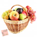 Fruits for You - Mix Fruit Basket 3 Kg and Card