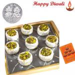Gulkand Katori with Laxmi-Ganesha Coin