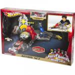 Hot Wheels Power Ranger Mega force Track Set