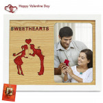 Sweethearts Photo Frames & Valentine Greeting Card