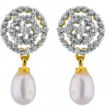 Cheerful Pearl Drop Earrings