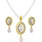 Charming Pearl Pendant Set