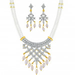 Astounding Pearl Necklace Set