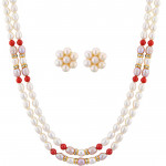 Humiliating  Pearl Necklace Set
