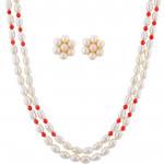 Innovative Pearl Necklace Set