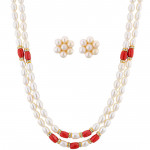 Modern Pearl Necklace Set