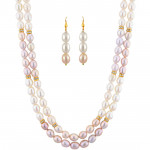 Fresh Pearl Necklace Set