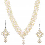 Conventional Pearl Necklace Set