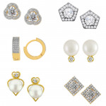 Valentine's Special 6 Pair Earring Combo
