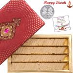 Kaju Katli - Kaju Katli 1 kg with Laxmi-Ganesha Coin