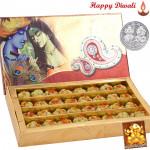 Kaju Sitafal with Laxmi-Ganesha Coin