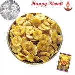 Kela Mari Wafer - Kela Mari Wafer 250 gms with Laxmi-Ganesha Coin