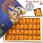 Kesar Penda - Kesar Penda 500 gms with Laxmi-Ganesha Coin