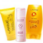 Lakme Beauty Touch - Milk Moisturiser + Fruit Face Mask + Sunscreen Lotion