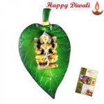 Laxmiji On Leaf