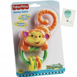 Fisher-Price Monkey Teether Rattle