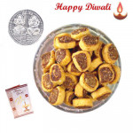Moti Bhakharwadi - Moti Bhakharwadi 250 gms with Laxmi-Ganesha Coin