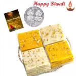 Mumbai Halwa with Laxmi-Ganesha Coin
