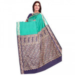 Navy Blue Silk Saree (F-57)