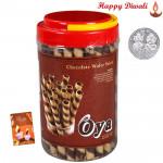 Oya Choco Roll - Oya Premium Choco Rolls with Laxmi-Ganesha Coin