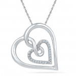 Soft Touch Diamond Pendent