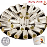 Pista Roll with Laxmi-Ganesha Coin