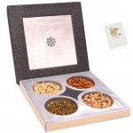 Pleasing Dryfruit Treat - Assorted Dry fruits 400 gms in Decorative Box