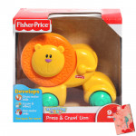 Fisher-Price Growing Baby - Press and Crawl Lion