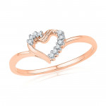 Valentines Day Special Diamond Finger Ring