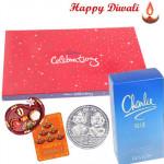 Sentiments - Charlie Blue Perfume, Celebrations with Bhaidooj Tikka and Laxmi-Ganesha Coin