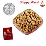 Sing Bhujiya - Sing Bhujiya 250 gms with Laxmi-Ganesha Coin