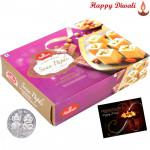 Soan papdi - Haldiram Soan Papdi 1 kg with Laxmi-Ganesha Coin