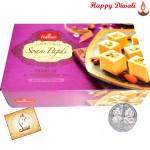 Soan papdi - Haldiram Soan Papdi 500 gms with Laxmi-Ganesha Coin