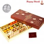 Special Kaju Mix Mithai 1 kg with Laxmi-Ganesha Coin