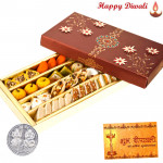 Special Kaju Mix Mithai with Laxmi-Ganesha Coin