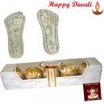 Auspicious Laxmi Steps, Ferrero Rocher 4 pcs