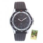 Sonata Watch Gray Dial Gray Strap