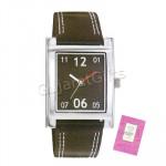 Sonata Watch Black Dial Black Strap