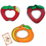 Little's Water-Filled Teether - Apple, Strawberry and Orange