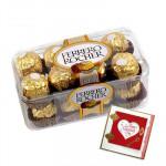 Ferrero Rocher 16 Pcs and Card