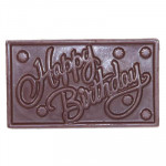 Special Happy Birthday Chocolate and Card