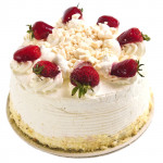 Pink Treat - Stawberry Cake 1/2 Kg + Card