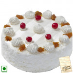 Special Sweet - Pina Treat (Eggless) 1 Kg + Card